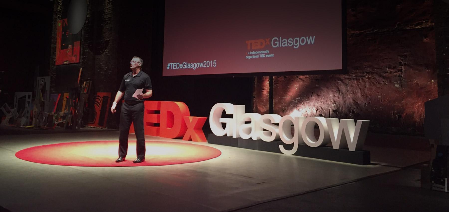 TedX Glasgow Jim Duffy